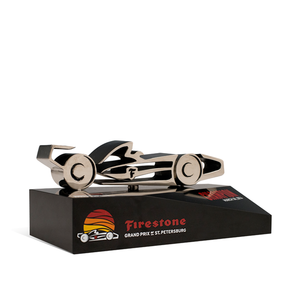Firestone Gran Prix of St. Pete Trophies