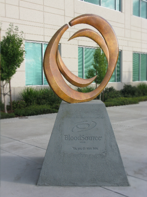 8' BloodSource Monumental Sculpture