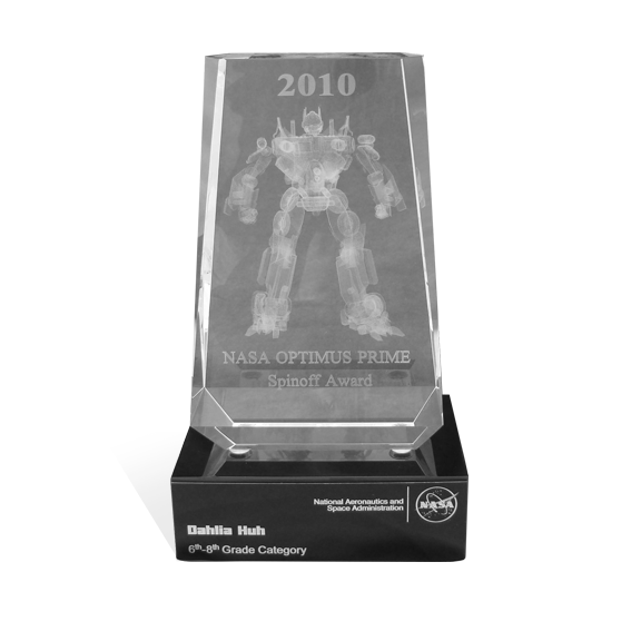 NASA Optimus Prime Awards