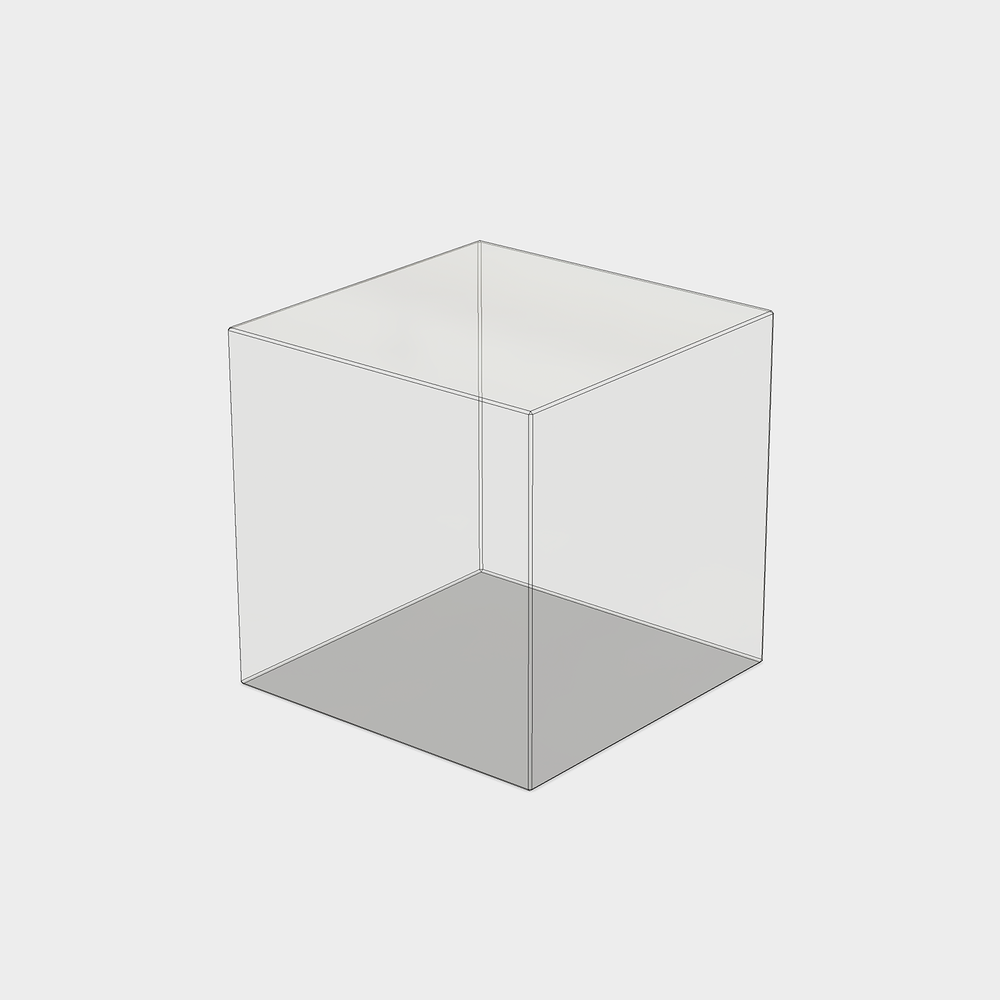 "3"" x 3"" x 3"" Cube"
