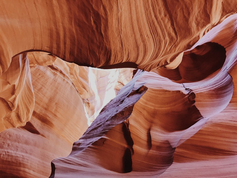 Antelope Canyon was one of the places I really wanted to show Rich and Sara. Antrom Kury and I had gone before and the emotion and energy that I felt from this place brought me to tears. I knew I had to share that experience with our dear friends. We ended up pulling off a little early before the main entrance and found a small group tour that no one was on. This place is usually filled with tourists but we had it to ourselves. WHAT A DREAM!!!!