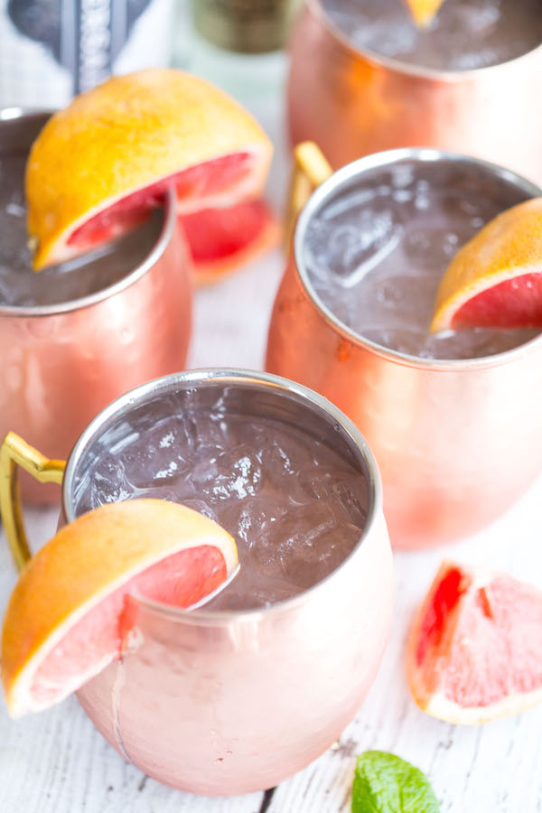 Laurel:  I love anything grapefruit--so this is my go-to twist on an already refreshing summer drink