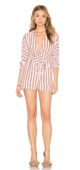 Laurel:  I think this is the perfect 4th romper, whether you're at the lake or the beach or in the city
