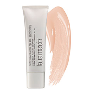Catherine:  Most likely on the 4th you're somewhere hot, or maybe near a body of water and don't want to wear make up but this tinted moisturizer has SPF and a little color so you look like you have a little something on and you won't burn.