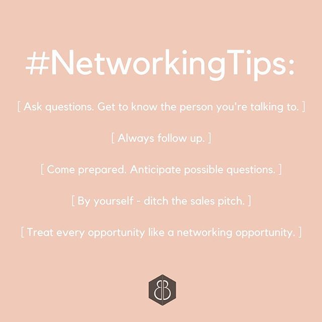 Networking can be an intimidating activity but if you use every opportunity presented to you to hone your skills, you'll gain the confidence you need to succeed!