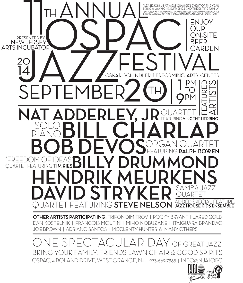 11th ANNUAL JAZZ AND BREW FEST - 9.20 BUY TICKETS