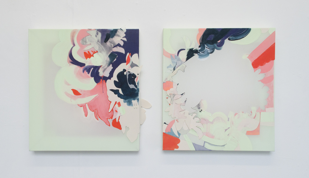 Oh, Soleil Levant I&II (Diptych)
