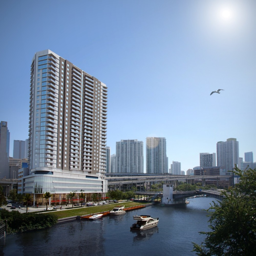 Flagler on the River rendering
