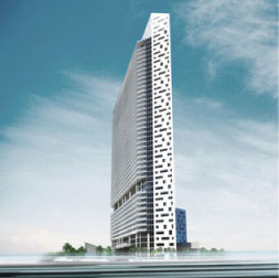 Brickell House finished rendering