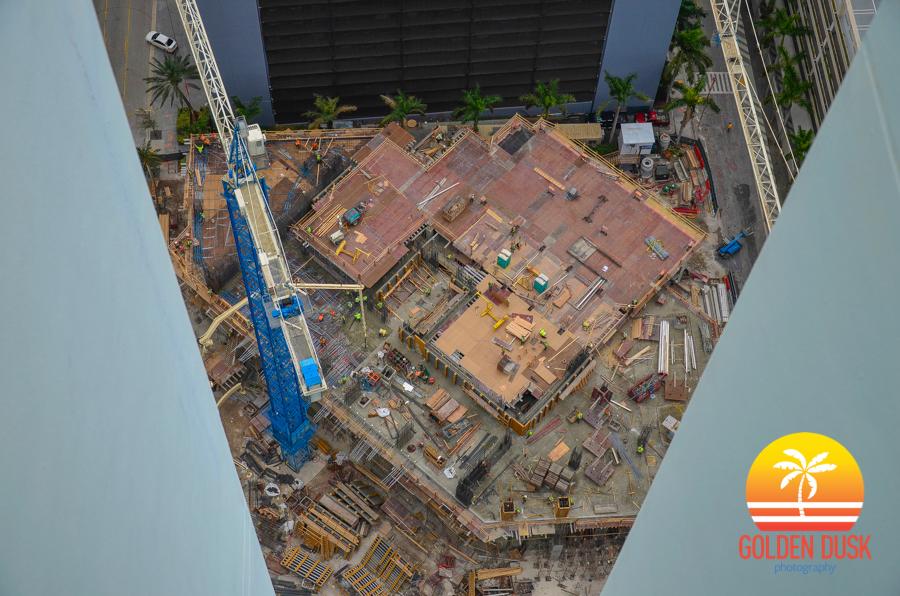 Brickell House Construction Progress Photos Golden Dusk