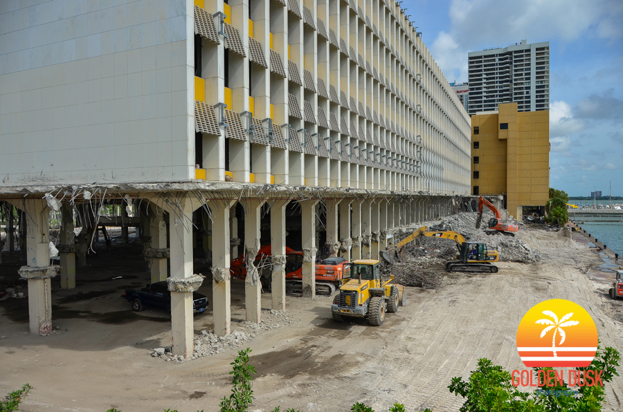 Miami Herald Building Demolition