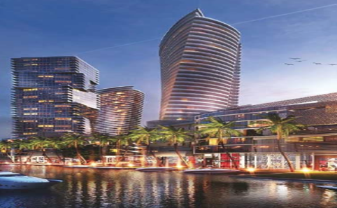 Rendering of the Site on the Miami River