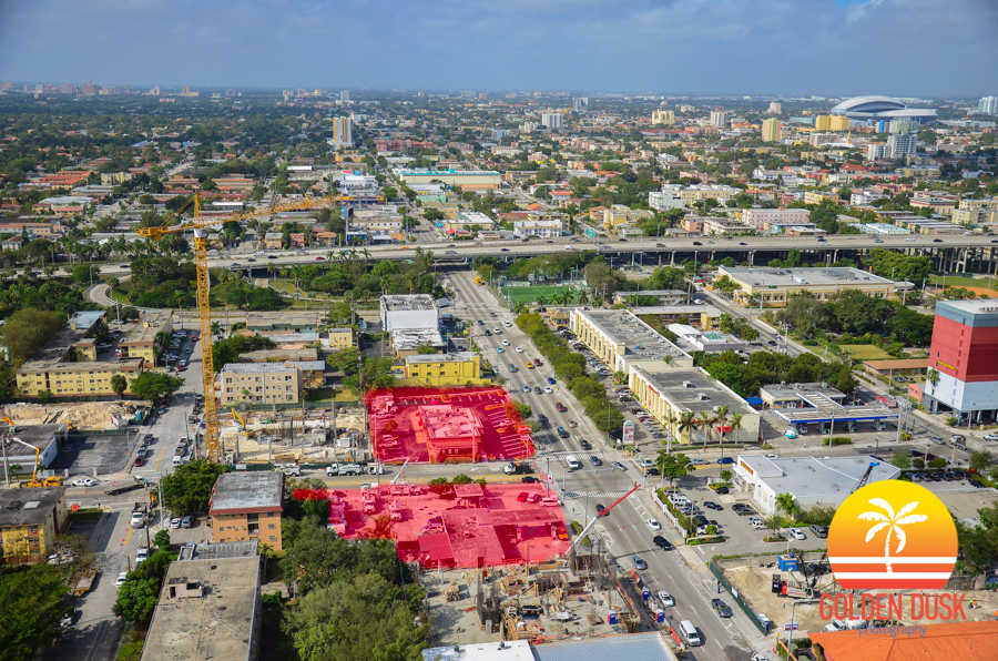 Recently Bought Land in Brickell