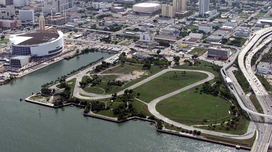 Bicentennial Park Miami 1999