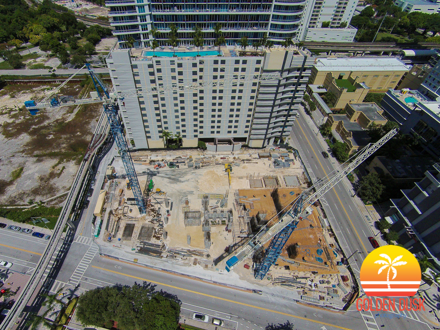 SLS Brickell Construction Site
