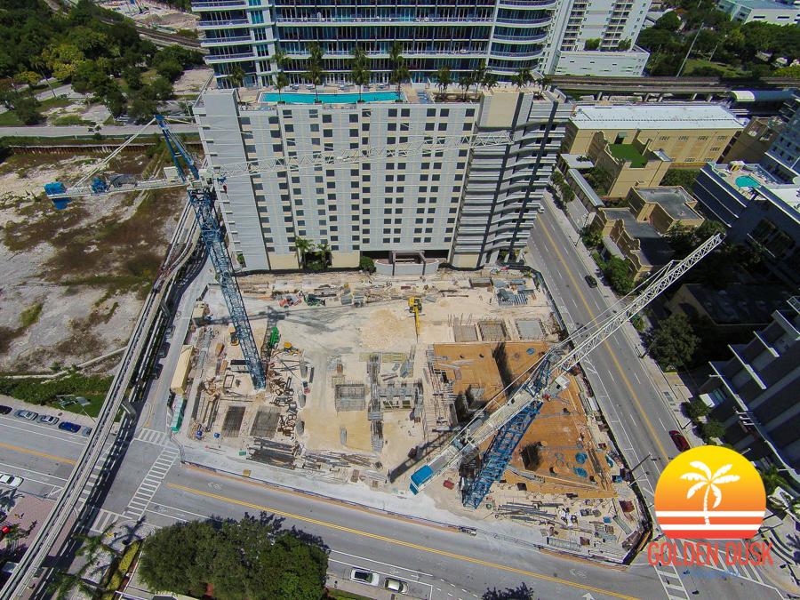 SLS Brickell Construction Site