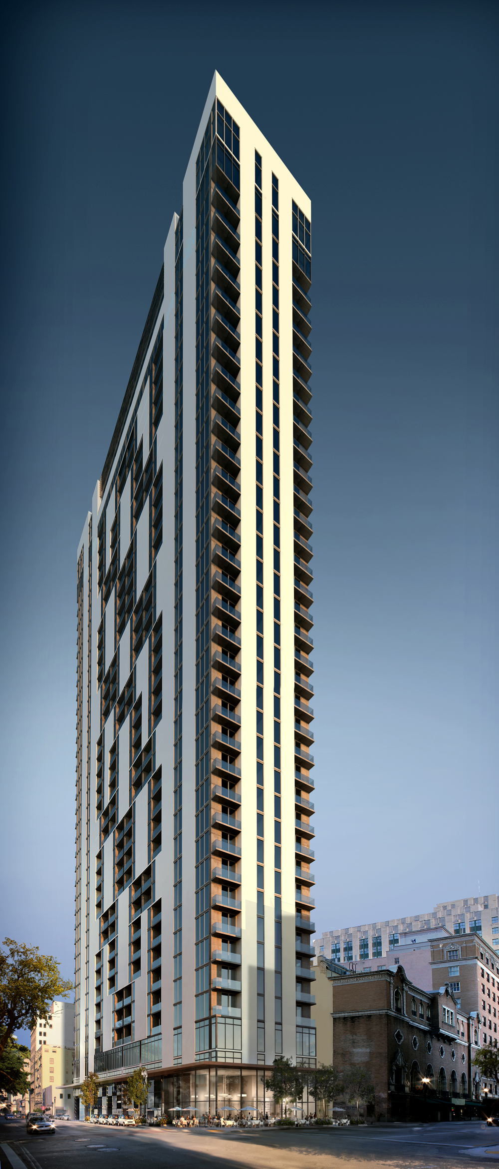 Centro Lofts Miami Rendering