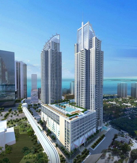 Capital at Brickell Proposed Rendering