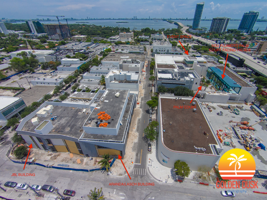 Overview of Design District Projects