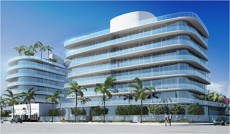 One Ocean - North Tower Rendering