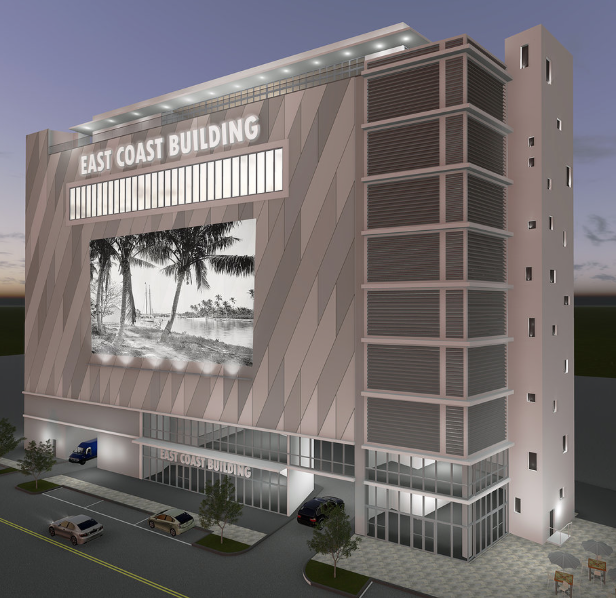 East Coast Building Rendering