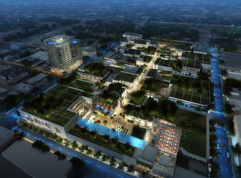 Design District Expansion Rendering