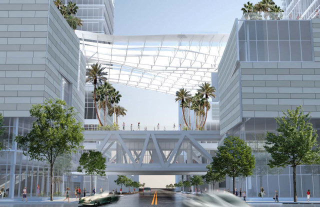 Brickell City Centre Walkway Rendering