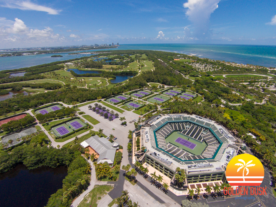 The Crandon Park Tennis Center On Key Biscayne