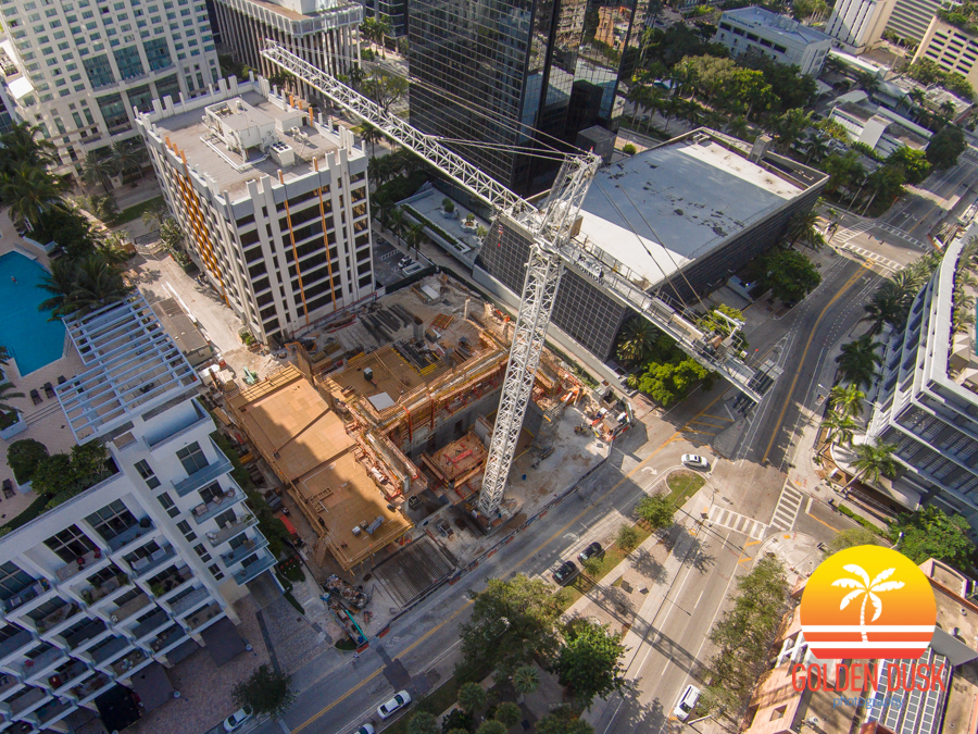 The Bond at Brickell Construction Site