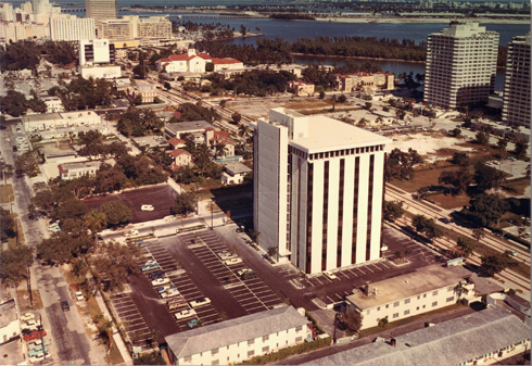 Brickell In 1967 (Photo via Allen Morris Co.)