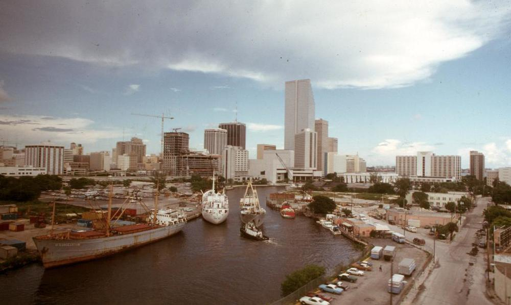 Miami in 1984 (Photo via Skyscraper City)