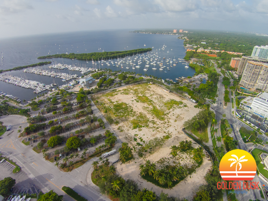 Site of Regatta Park In Coconut Grove