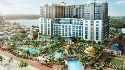 Margaritaville Hollywood Rendering