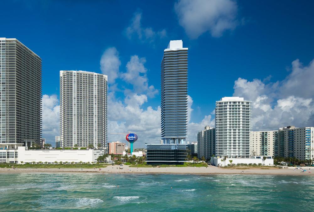 Hyde Beach Resort & Residences Rendering