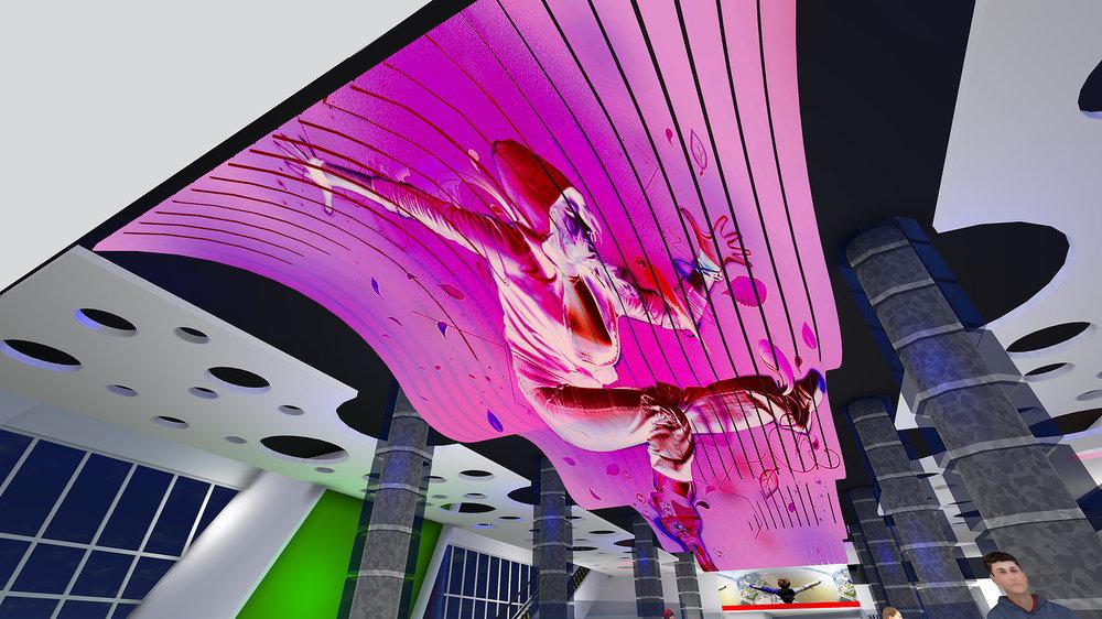 SkyRise Miami Lobby Rendering