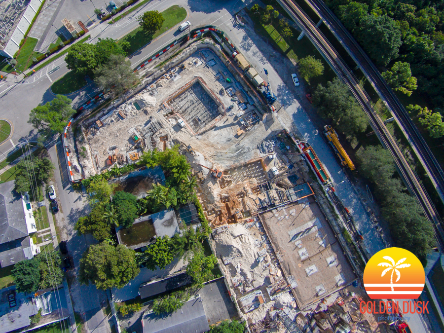 Overview of Atton Hotel Construction Site