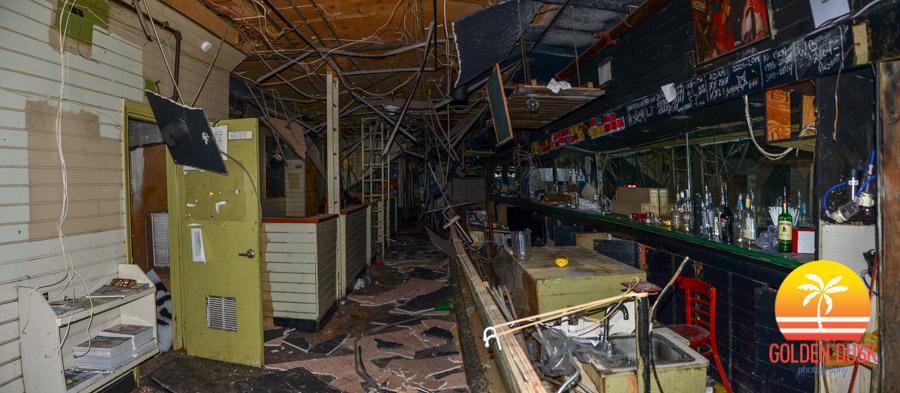 Inside Tobacco Road Before Demolition