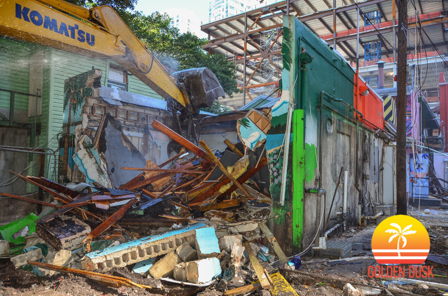 Demolition Of The Oldest Bar In Miami - Tobacco Road