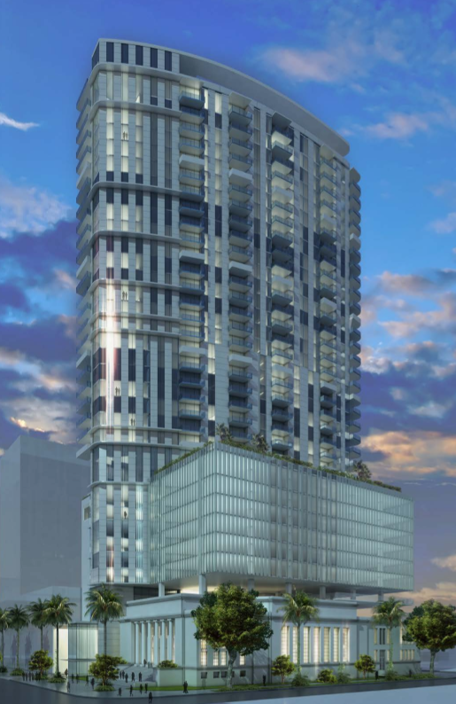Rendering At 1836 Biscayne Blvd