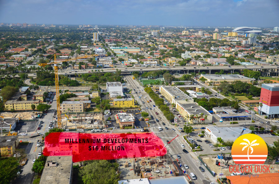 Land Purchased In Red In West Brickell