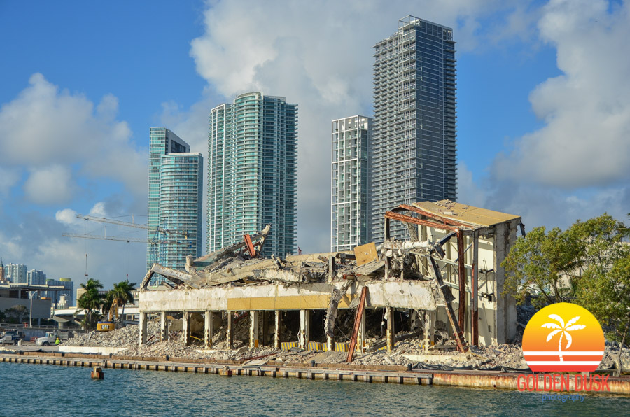 Miami Herald Building Demolished