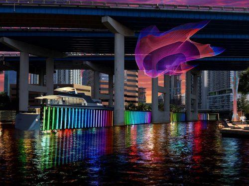 Proposed Art Under I-95