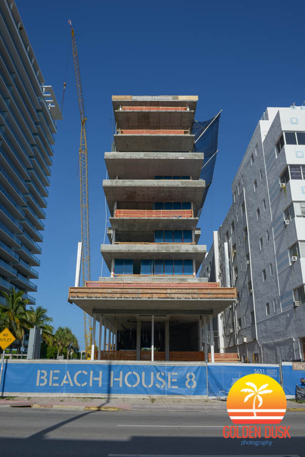 Beach House 8 on Collins Ave.