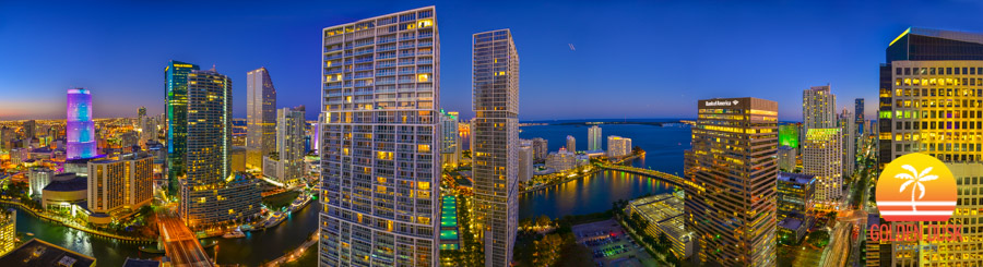 Night Falls Upon Brickell