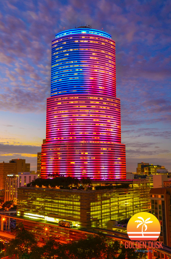 Patriotic Miami Tower
