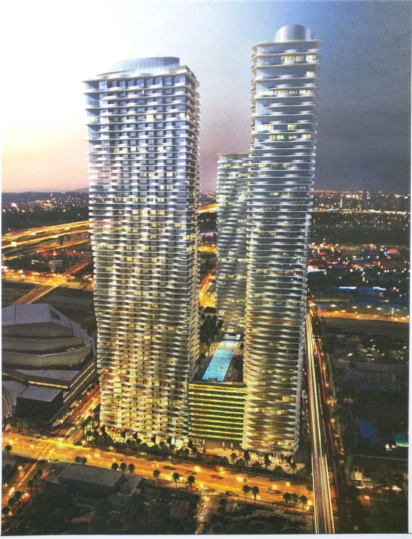 Rendering of Auberge Miami via The Next Miami