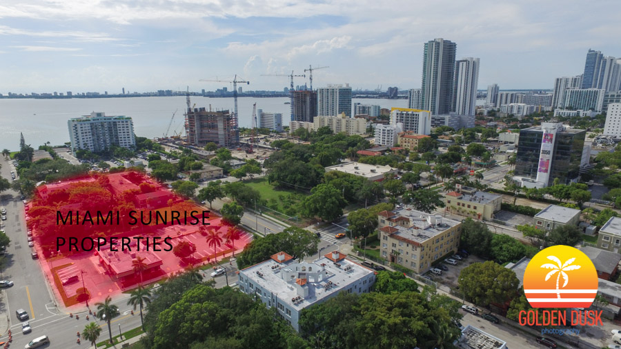 Block Owned By Miami Sunrise Properties in Red