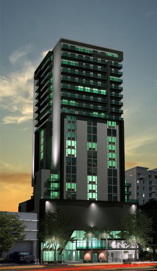 Hotel Indigo Rendering