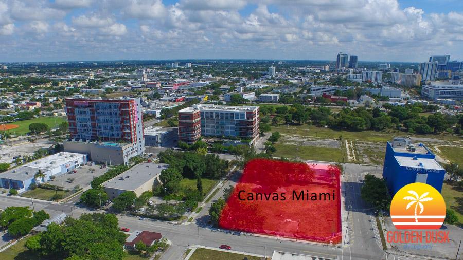 Canvas Miami Lot in Arts & Entertainment District