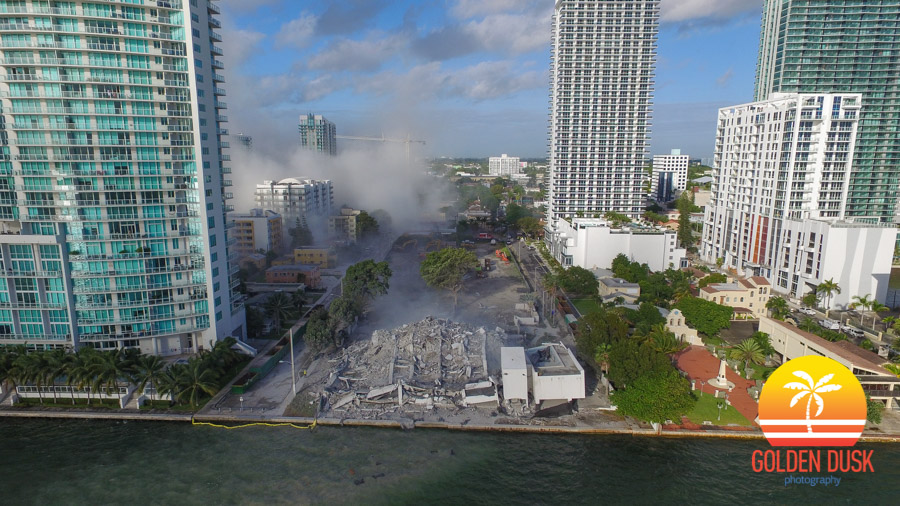Electra on the Bay Implosion